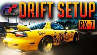 Mazda RX7 Drift Setup / Build Gran Turismo Sport GT Sport ps4