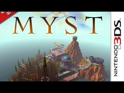 CGRundertow MYST for Nintendo 3DS Video Game Review