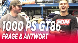 Toyota GT86 V8 Biturbo LS3 Swap Frage Antwort MPS Engineering BBM Motorsport FAQ