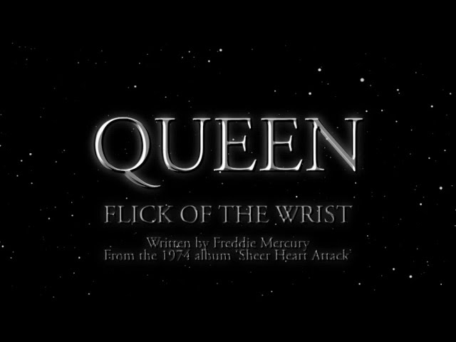 Queen - Flick Of The Wrist (Official Lyric Video)