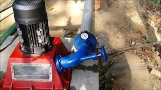 1 KW pico turgo turbine installed at a site in Karnataka
