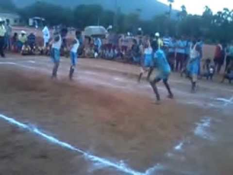 Cbse Kabaddi Match  Tamilnadu Blue Vs Andhra  Senior 2013- 14 video