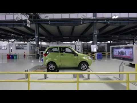 Mahindra e2o - Green Manufacturing Unit