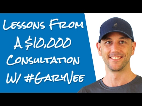 What I Learned From A $10,000 Consultation With Gary Vaynerchuk About Internet Marketing