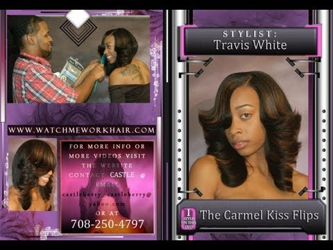 White girl gets a full sew-in weave with closure at Hair Escapades