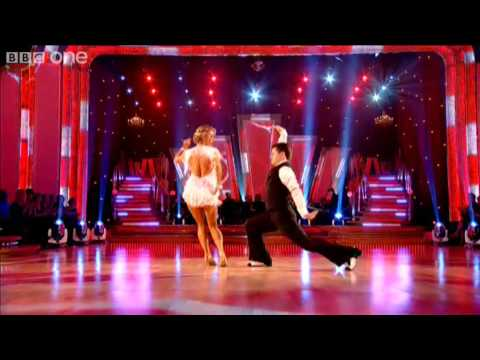 "http://www.bbc.co.uk/strictly Sports presenter Chris Hollins and his dance partner Ola Jordan perform a Charleston to ""Fat Sam's Grand Slam"" made famous by P..."