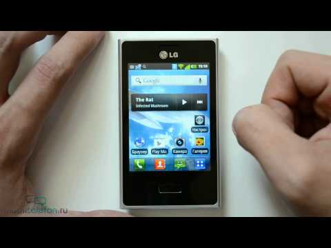 Обзор LG Optimus L3 (E400): дизайн. интерфейс. ПО (review)
