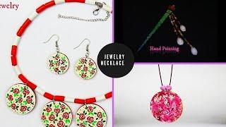 3 Easy DIY Necklace | Handmade Jewellery | Jewellry Making