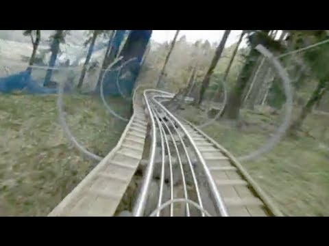 Alpsee Coaster POV - Germany's Longest Alpine Roller Coaster Alpsee Bergwelt. Germany