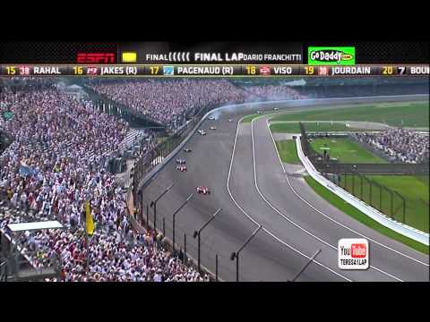 2012 Indianapolis 500 finish