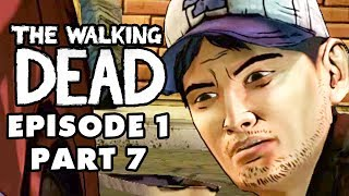 The Walking Dead Game - Episode 1, Part 7 - Zombie Motel (Gameplay Walkthrough)