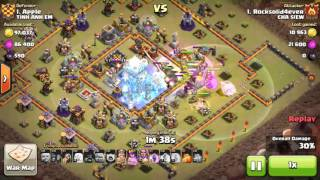 Clash of Clans - Mix troops clear hall 11