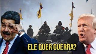 VENEZUELA: MADURO REALIZA EXERCÍCIOS PARA AFRONTAR EUA