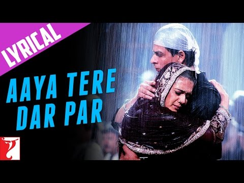 Lyrical: Aaya Tere Dar Par Song with Lyrics | Veer Zaara | Shah Rukh Khan | Javed Akhtar