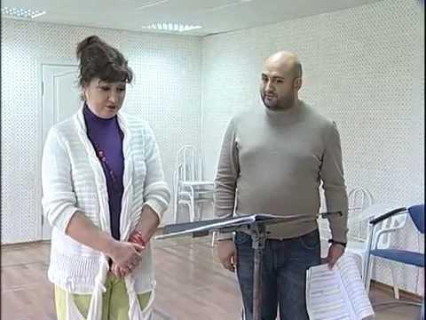 """Репетиция оперы В.Ходоша """"Медведь"""""""