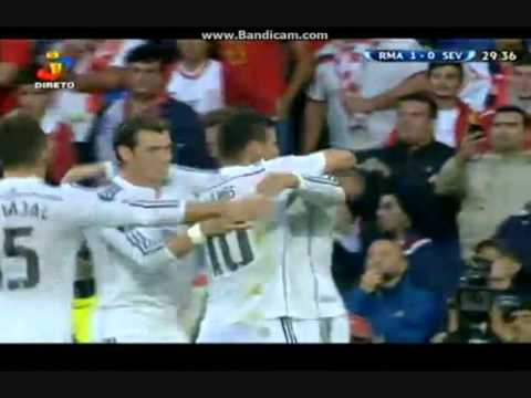 Real Madrid vs Sevilla 2-0 ( UEFA Super Cup ) 2014 Goals and Highlights