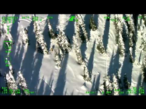 Helicopter rescue of injured Mont. skier