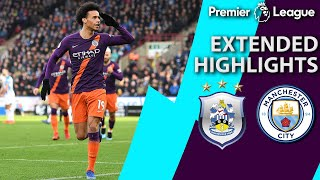 Huddersfield v. Manchester City PREMIER LEAGUE EXTENDED HIGHLIGHTS 12019 NBC Sports