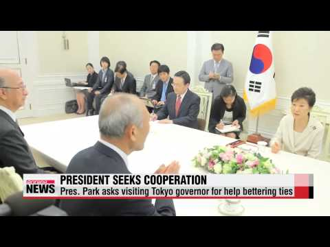 President Park calls for Korea and Japan's shared historical perspectives during talks with Tokyo go