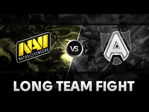 Long team fight! by Na'Vi vs Alliance @ DAC 2015
