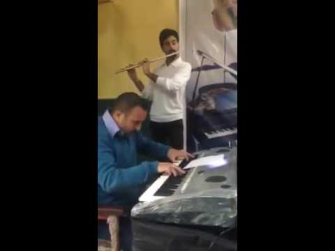 Karrar Flute In Institute Of Fin Art In Baghdad