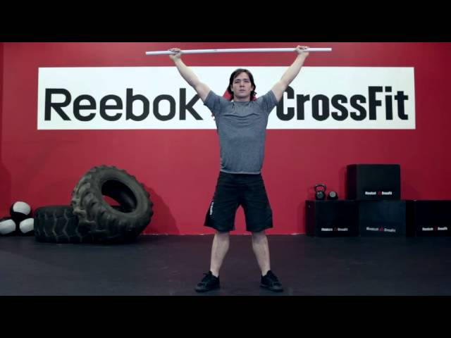 "Reebok CrossFit ONE Movement Demo ""Overhead Squat"""