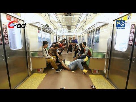 Commuter - Buang Sampah Di Kereta #1