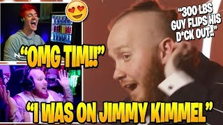 "Ninja SURPRISED by ""A Guy Flipping His D*Ck Out"" on Jimmy Kimmel Show (Unnecessary Censorship)"