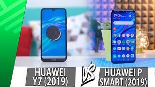 Huawei Y7 (2019) VS Huawei P Smart (2019) | Confrontation | Top Pulse