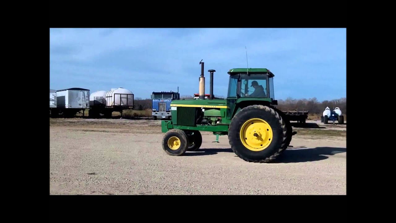 John Deere 410 >> 1977 John Deere 4630 tractor for sale | sold at auction December 27, 2012 - YouTube