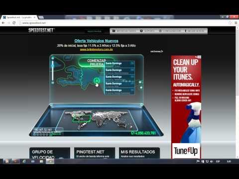 Como medir la Velocidad de mi Internet gratis y sin programas......HD___2012-2013