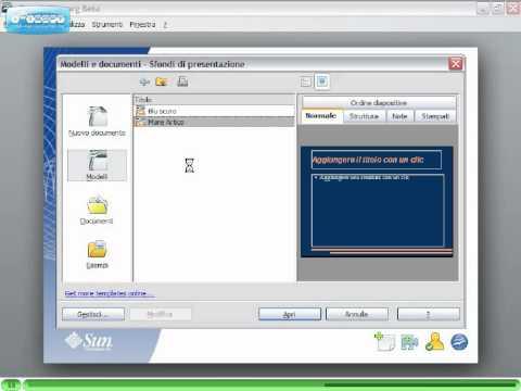 OpenOffice Videotutorial Italiano Parte 1 - Presentazione pacchetti