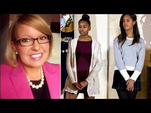 Pathetic: GOP Staffer Attacks Sasha and Malia Obama