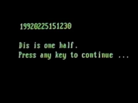 Virus.DOS.OneHalf