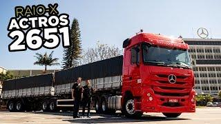 😎Raio-X do Caminhão mais Top da Mercedes: Actros 2651 no Bitrem (revelado por completo)