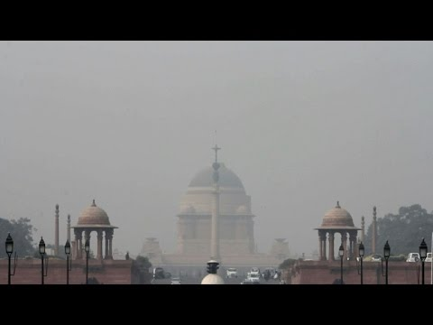 India's capital New Delhi chokes under air pollution