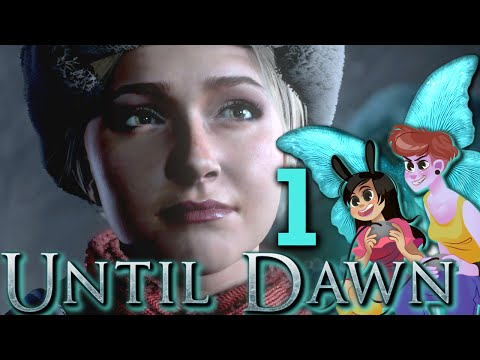 UNTIL DAWN - 2 Girls 1 Let's Play Gameplay Walkthrough Part 1: Butterfly Effect thumbnail