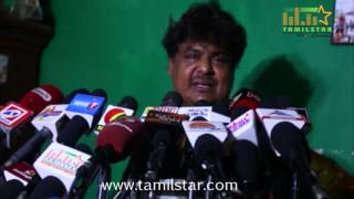 Mansoor Ali Khan Press Meet On Nadigar Sangam Issue