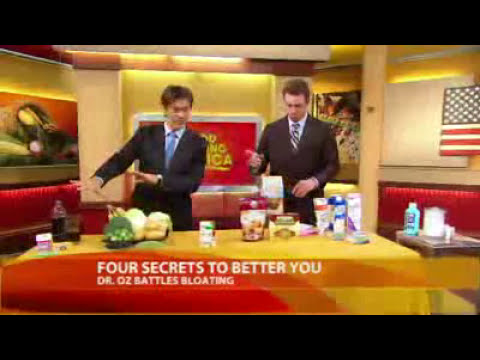 Bloating Remedies - Tips From  Dr Mehmet Oz