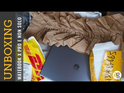 Unboxing HUAWEI MATEBOOK X PRO prime impressioni e non solo!