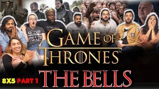 Game of Thrones - 8x5 The Bells [Part 1] - Group Reaction