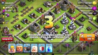 Clash of Clans- Güncelleme sonrası ganimet azalması.( After Update Loot Problem)
