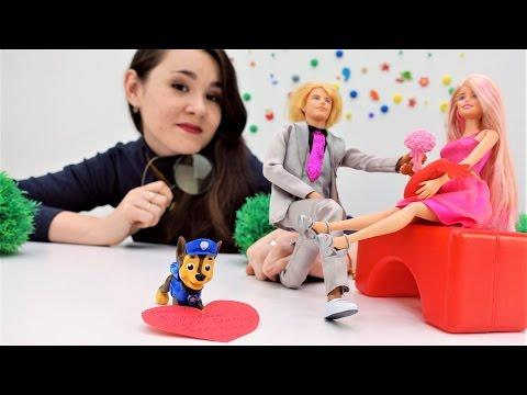 Подарок на День Святого Валентина для Барби. Мультики для девочек
