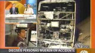 Accidente de Transito en el Pasamayo : Peru22.com