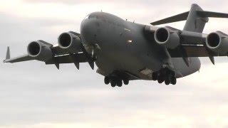 C-17 and B-52 at Avalon Airshow 2015