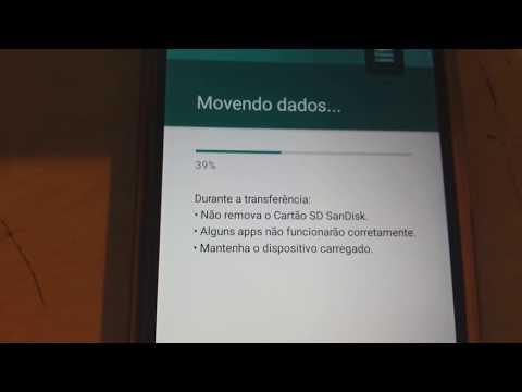 Como usar o cartao sd como memoria interna no android 6 0 ou CM13
