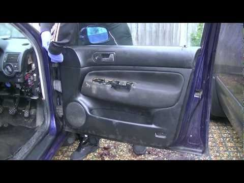 VW Golf MK4 Door Panel Removal (Simple Easy Steps)
