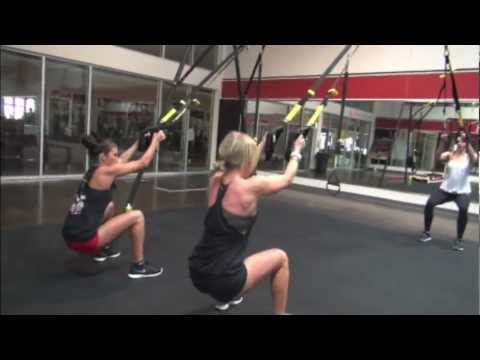 Camp Hero Leg Training Part 1:  TRX Squat variations Image 1