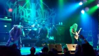 "Marduk ""Baptism By Fire"" Live Poughkeepsie NY 2:21:2013"