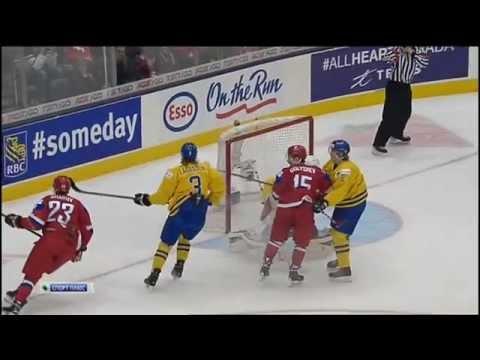 Russia Sweden 4-1. =05.01.15= Россия - Швеция 2015 IIHF Ice Hockey U20 World Championship